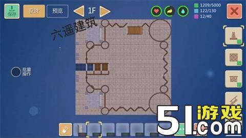 在创造与魔法里,玩家可以自己设计建筑,以达到游戏乐趣。那么,临海城堡怎么设计呢?一起来看看吧!   平面图纸    立体效果图