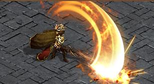 烈火剑法技能展示